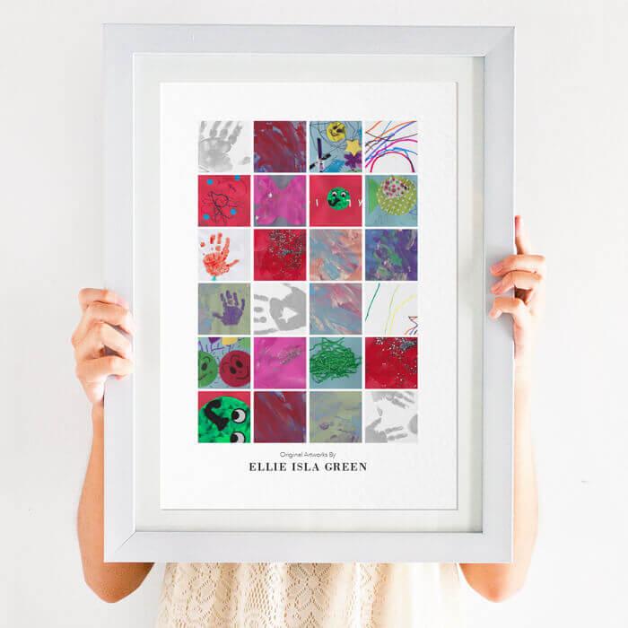 photo heart print