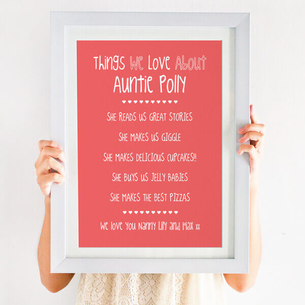 things you love print