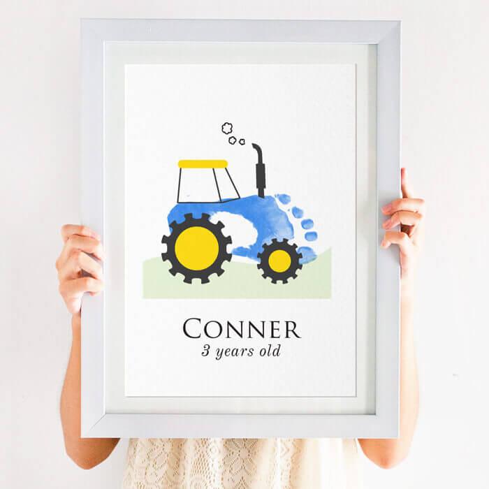 Personalised Tractor Footprint