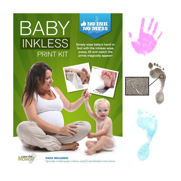 Inkless Hand & Foot Print Kit