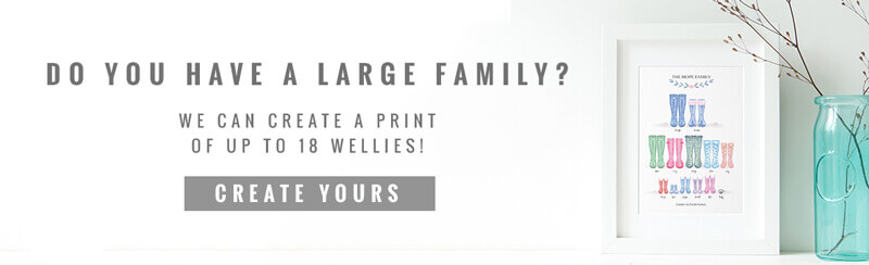 family welly print