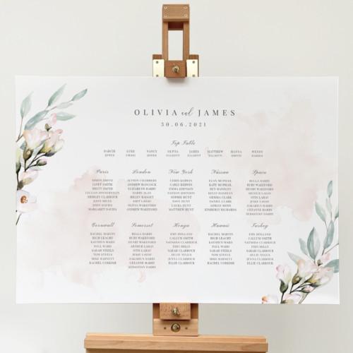 Blush and Sage Table Plan