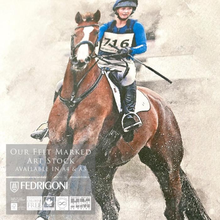 fedrigoni horse champion print