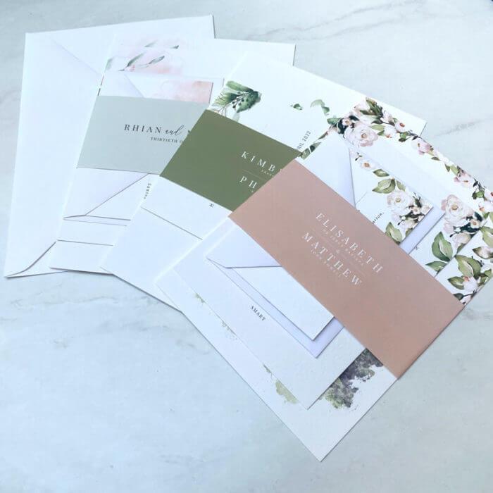 wedding sample pack