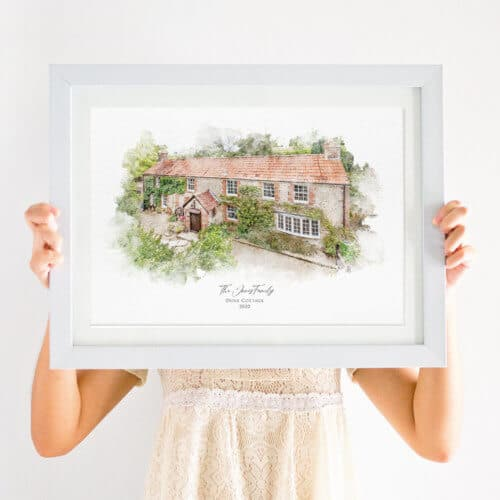 New home portrait print
