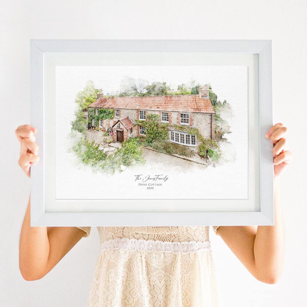 new house print