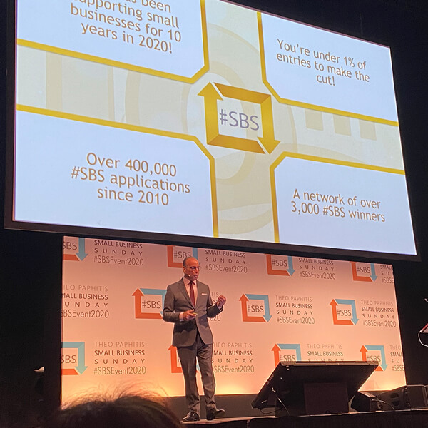 Theo Paphitis event sbs
