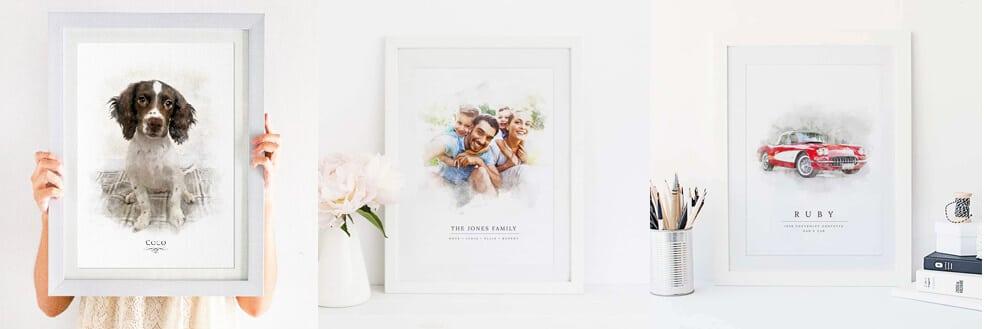 Blogger print choices