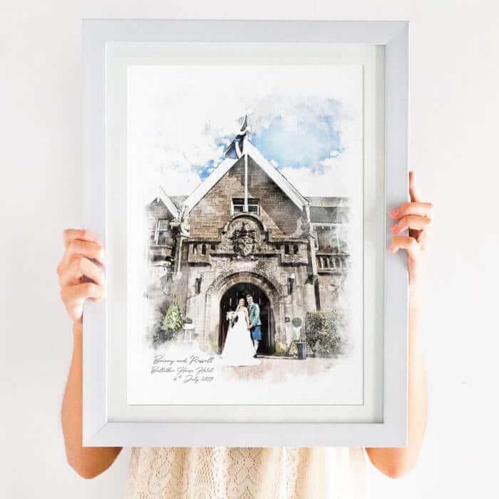 wedding gift print idea