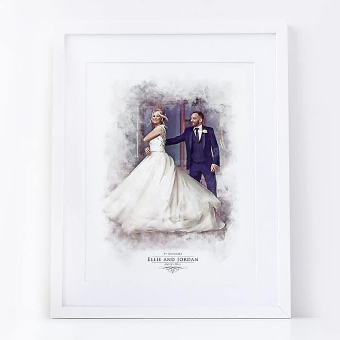 Valentine portrait print