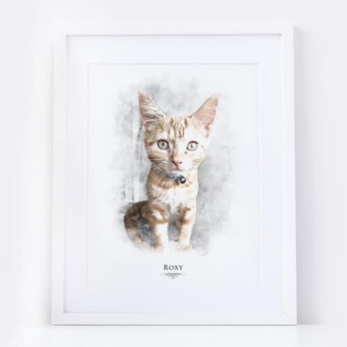 cat portrait uk