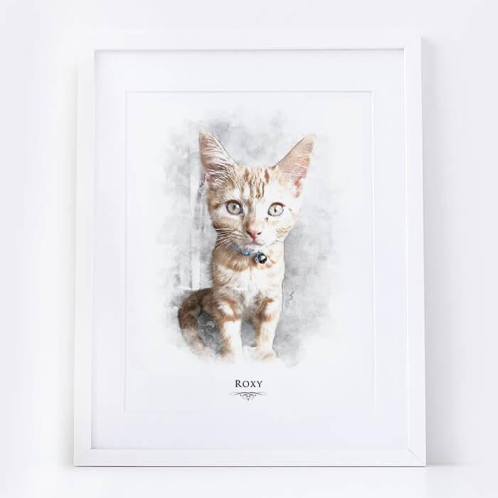 cat portrait uk