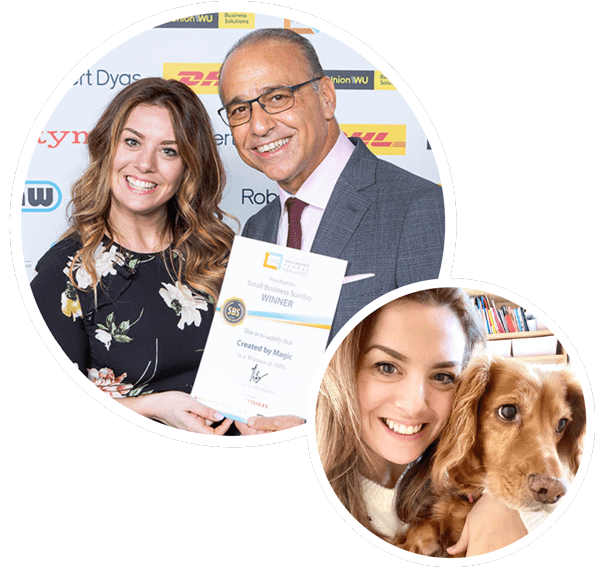Theo Paphitis award winning small business