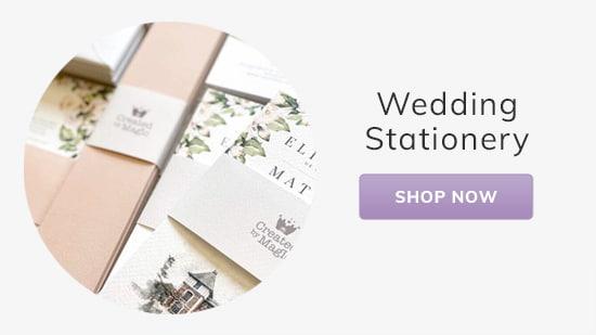 Custom Wedding Stationery Invitations